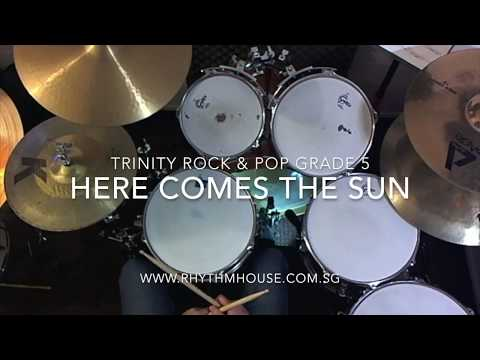 The Beatles - Here comes the sun - Trinity Rock & Pop Grade 5 Drums
