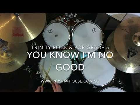 Amy Winehouse - You Know I'm No Good - Trinity Rock & Pop Grade 5 Drums