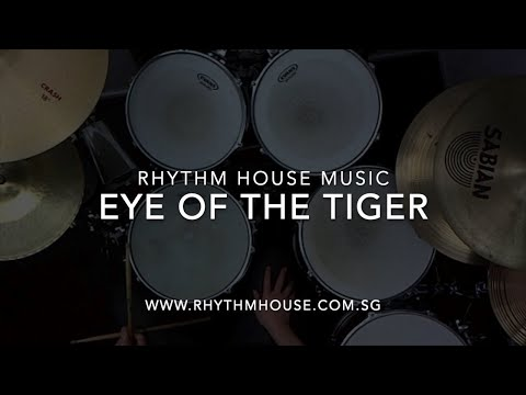 Eye Of The Tiger - Drum cover (drumless track) - Survivor