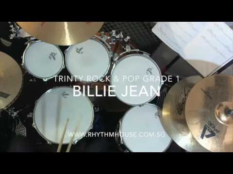 Michael Jackson - Billie Jean - Trinity Rock & Pop Grade 1 Drums