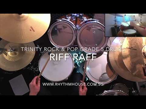AC/DC - Riff Raff - Trinity Rock & Pop Grade 5 Drums