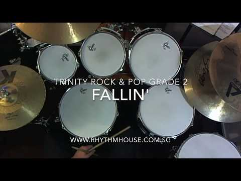 Alicia Keys - Fallin' - Trinity Rock & Pop Grade 2 Drums