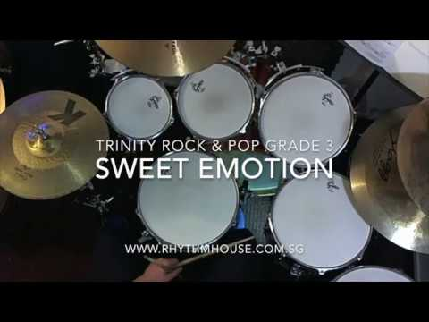Sweet Emotion - Aerosmith - Trinity Rock & Pop Grade 3 Drums