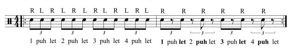 Quarter Note Triplets - Drum Lessons Singapore