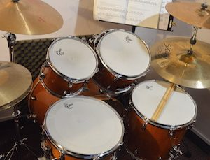 Drum Lessons Singapore - Gretsch Catalina Maple Drum Kit