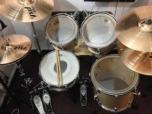 Drum Lessons Singapore Pearl Vision Drum Kit