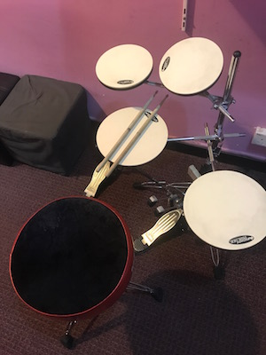 Drum Lessons Singapore - Practice Kit