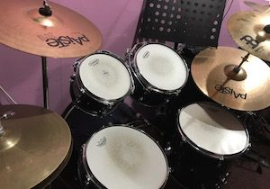 Drum Lessons Singapore - Tama Silverstar Drum Kit
