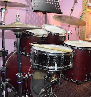 Drum Lessons Singapore - Yamaha Stage Custom Drum Kit