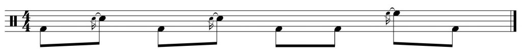 Fill of the week #4 displaced by 3 8th notes to the right.