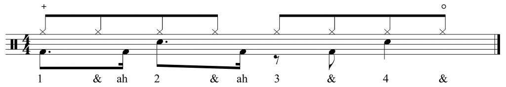 Groove 4 with counting added
