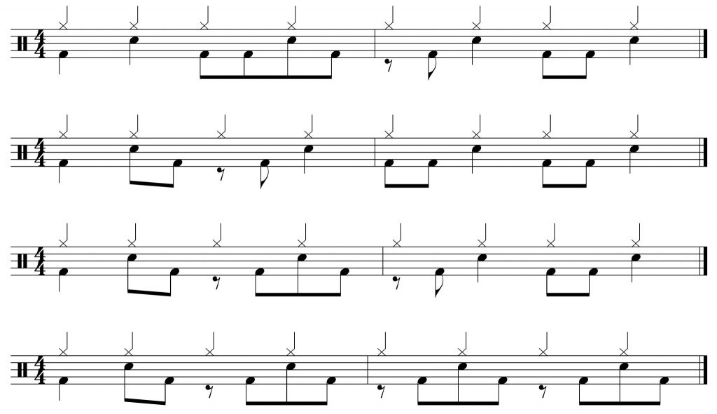 Variations on groove of the week #14