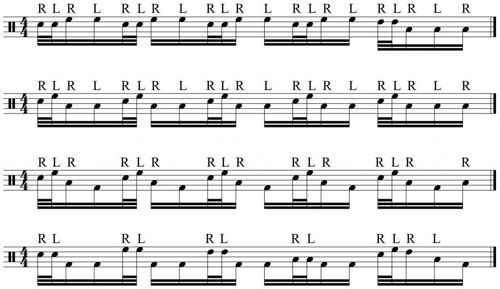 4 herta fill variations