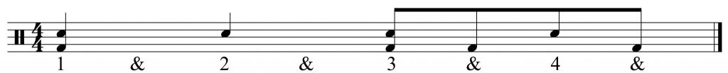 Snare and Bass drum