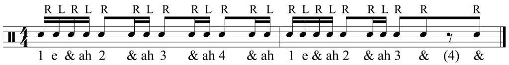 The basic hand pattern