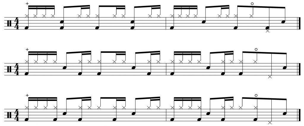 Bass drum variations