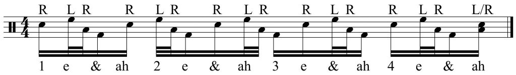 the 32nd note lick continues