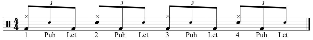 Variation with simple hi-hat