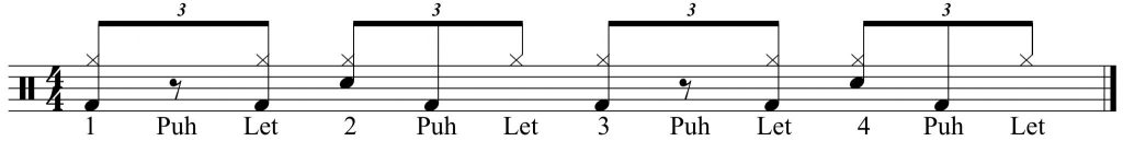 variation with simple snare
