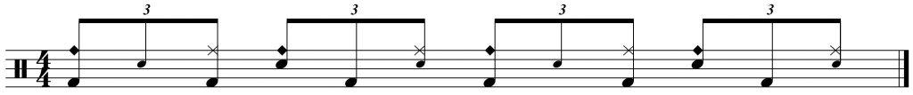 Ride bell variation