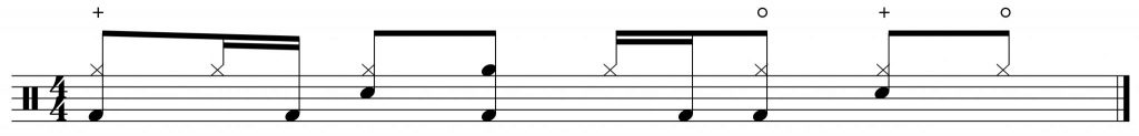 8th note hi-hats