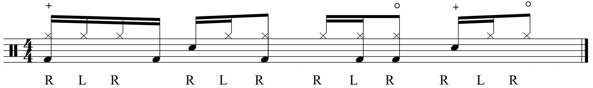 hi-hat variation 2