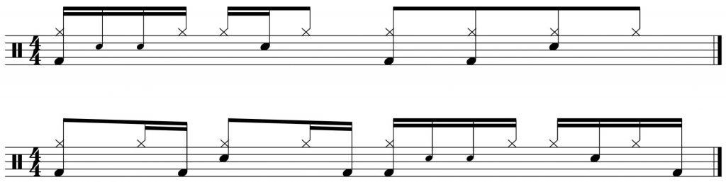 6 stroke roll variations