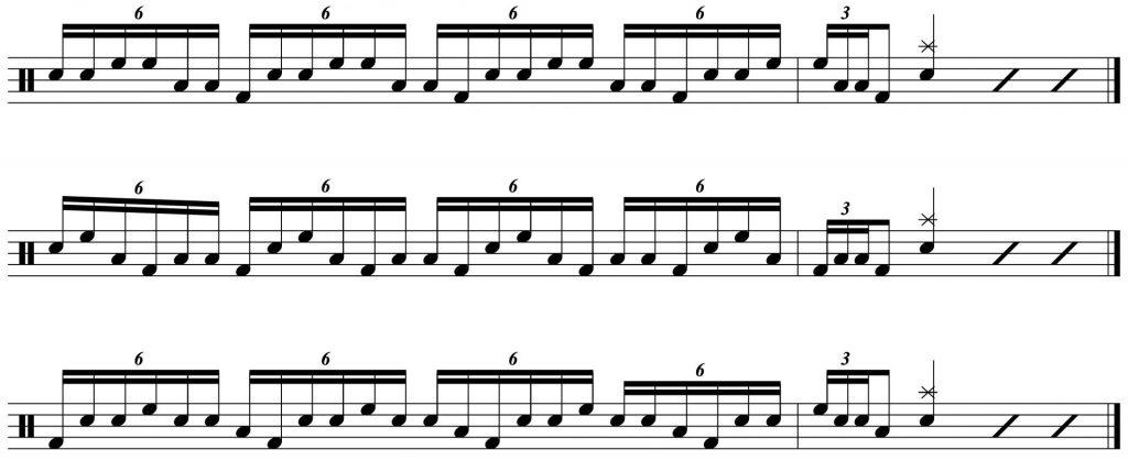 fill variations