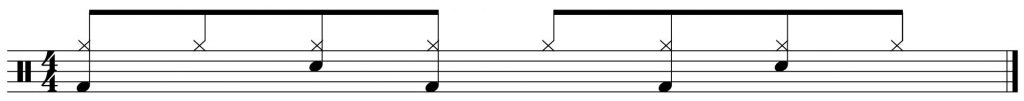 The basic groove.