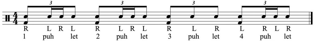Add  the bass drum