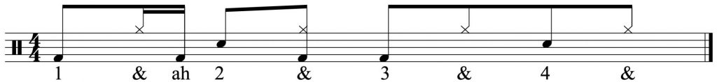 Adding In The Off Beat hi-hat