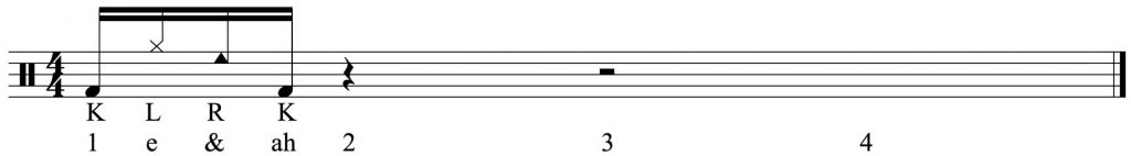 The first 4 notes
