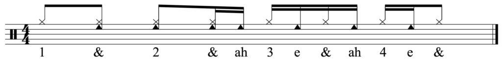 basic hand pattern