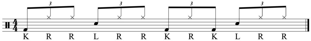The linear groove