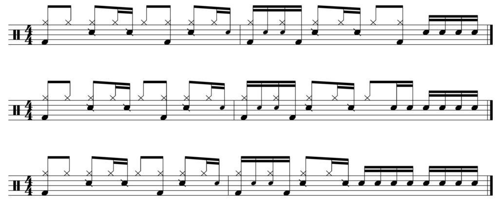 Groove of the week + fills